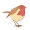 Sizzix Thinlits Die Set 4PK - Little Robin