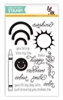 SSS Color and Sunshine Clear Stamp Set