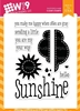 Wplus9 SENDING SUNSHINE Clear Stamps